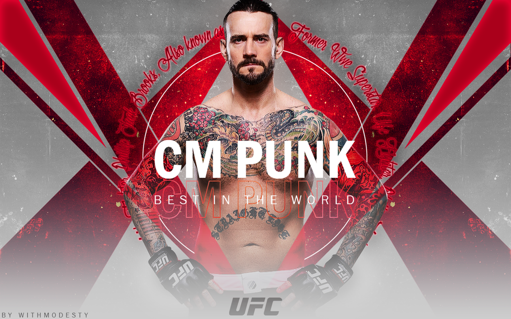 Ufc cm punk wallpaper unfinished by withmodesty on deviantart ufc cm punk wallpaper unfinished by withmodesty voltagebd Image collections