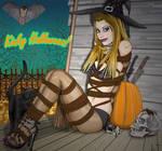 Alysha as the Bound Witch
