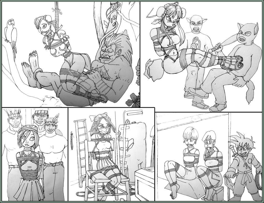 Sketchdump 7-25-15 by LouisTarado