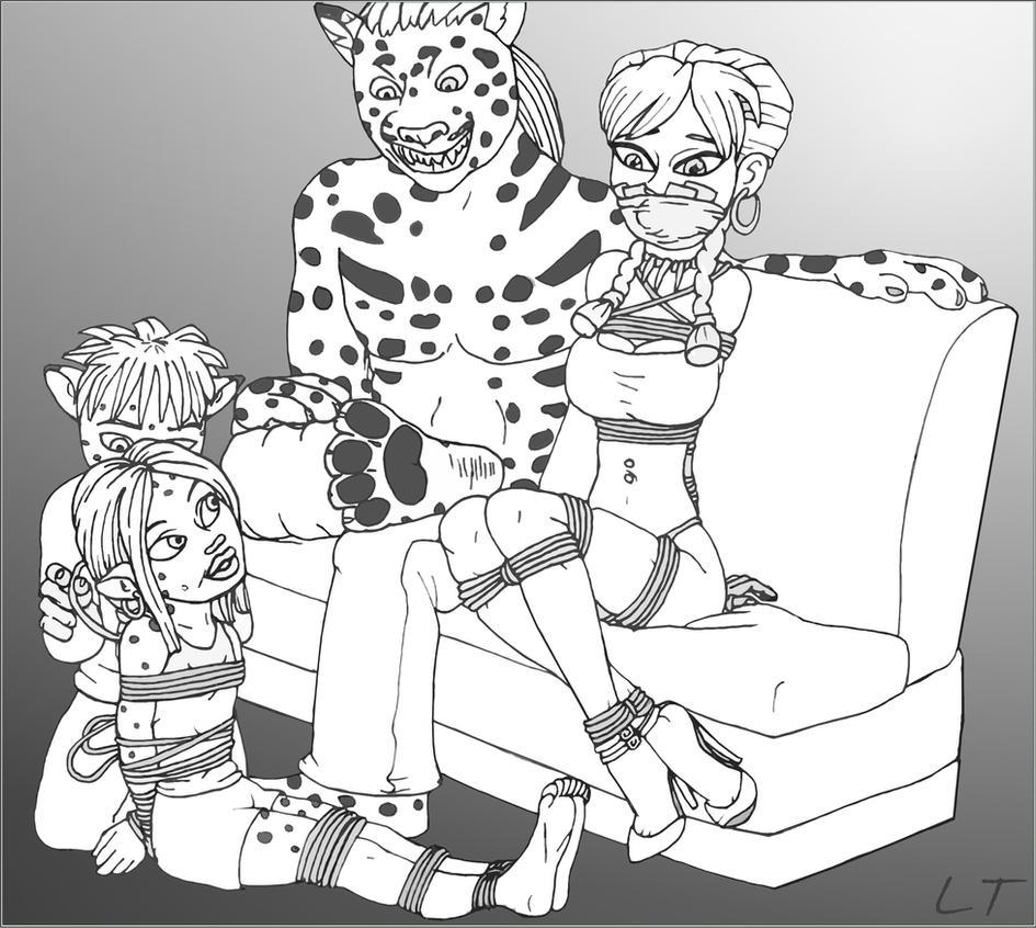 Kylie's Family Bonding by LouisTarado