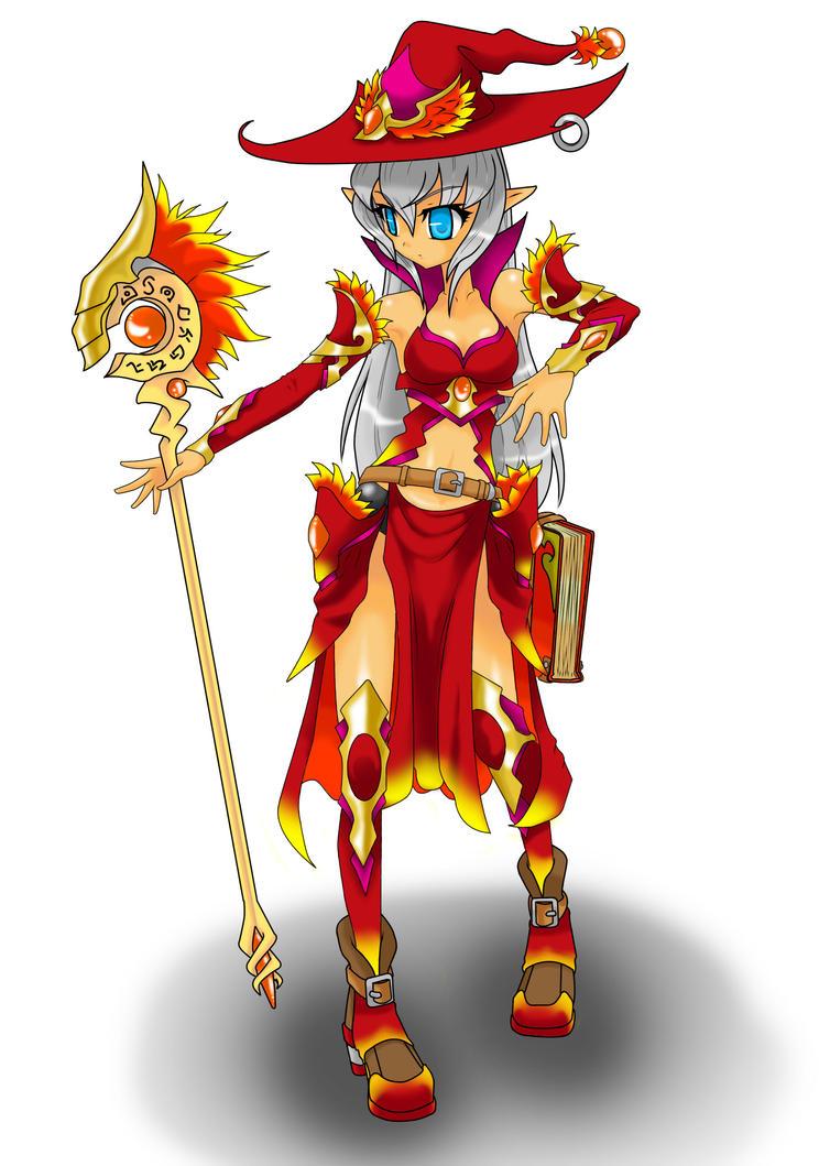 FEZ Sorcerer- Elf by LillDeimon