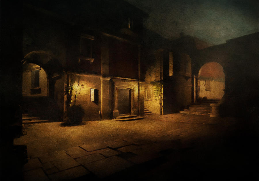 city street at night essay elie