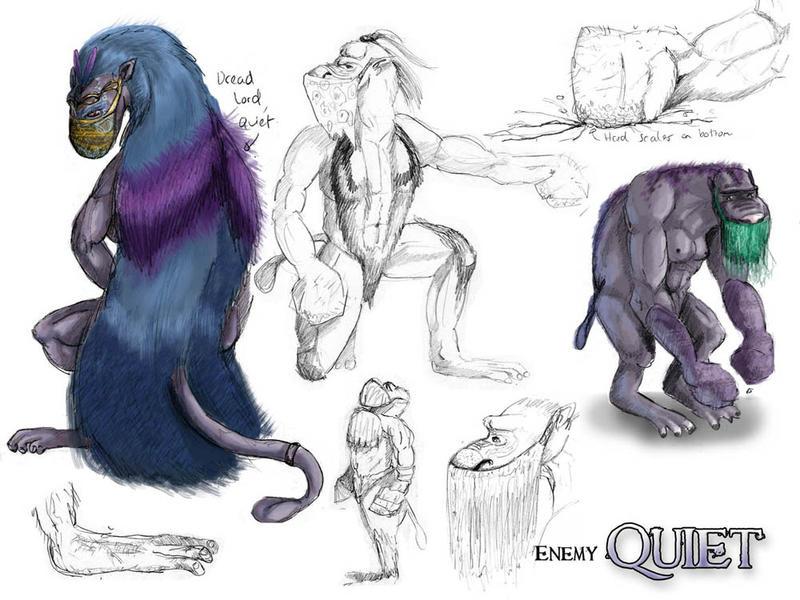 Quiet 'enemy' Concept