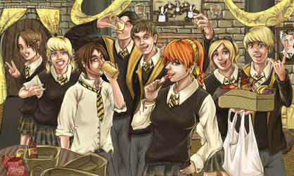 Hufflepuff - The Party House by Scorch-D