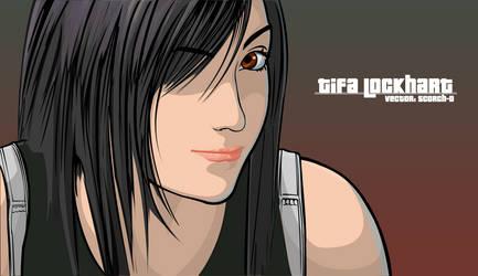 Tifa Lockhart Vector by Scorch-D