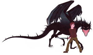 Andrew and Umbreon - Flash by Anutwyll