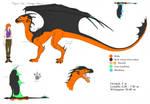 Elyssa ref. - dragon form