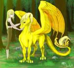 My dragon friend