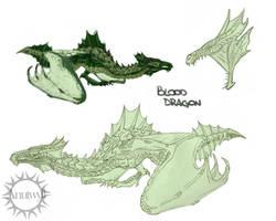 Blood dragon sketches by Anutwyll