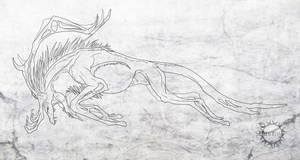 Contest prize - Forest creature lineart