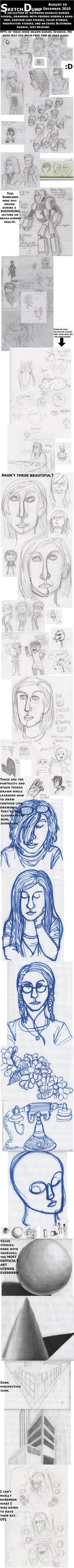 Another Sketch Dump by NekoNikora