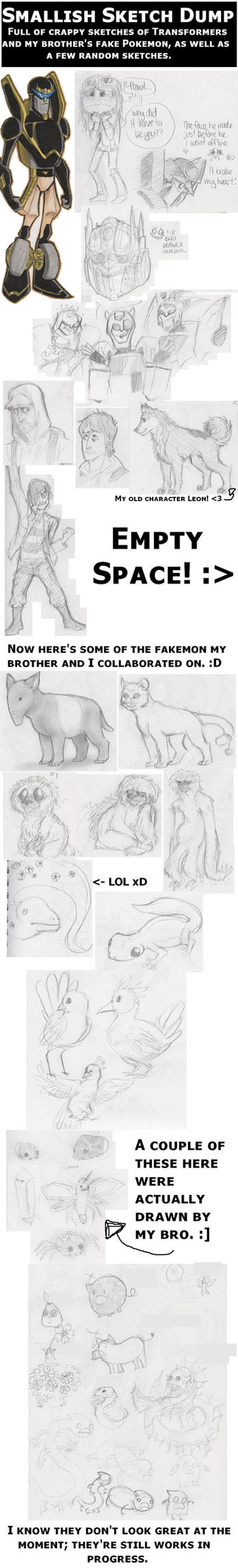 Yet Another Sketch Dump by NekoNikora