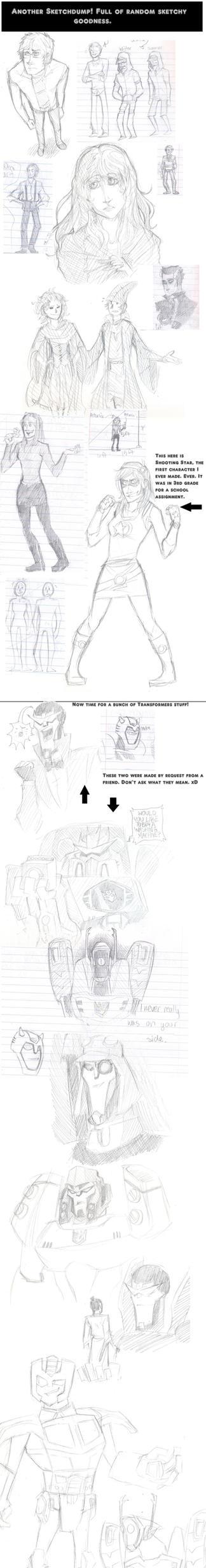 Random Sketch Dump by NekoNikora