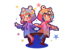 Raincoat buddies