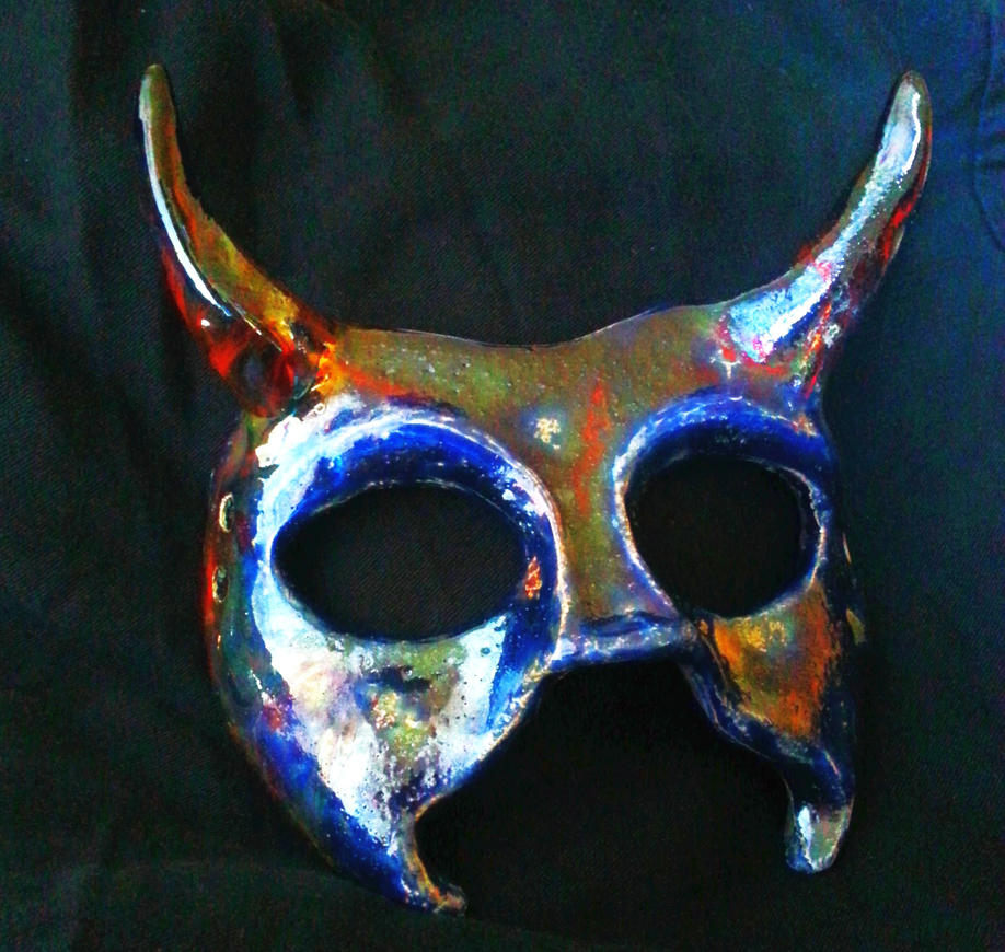 Blue Raku Demon by Mindslashed