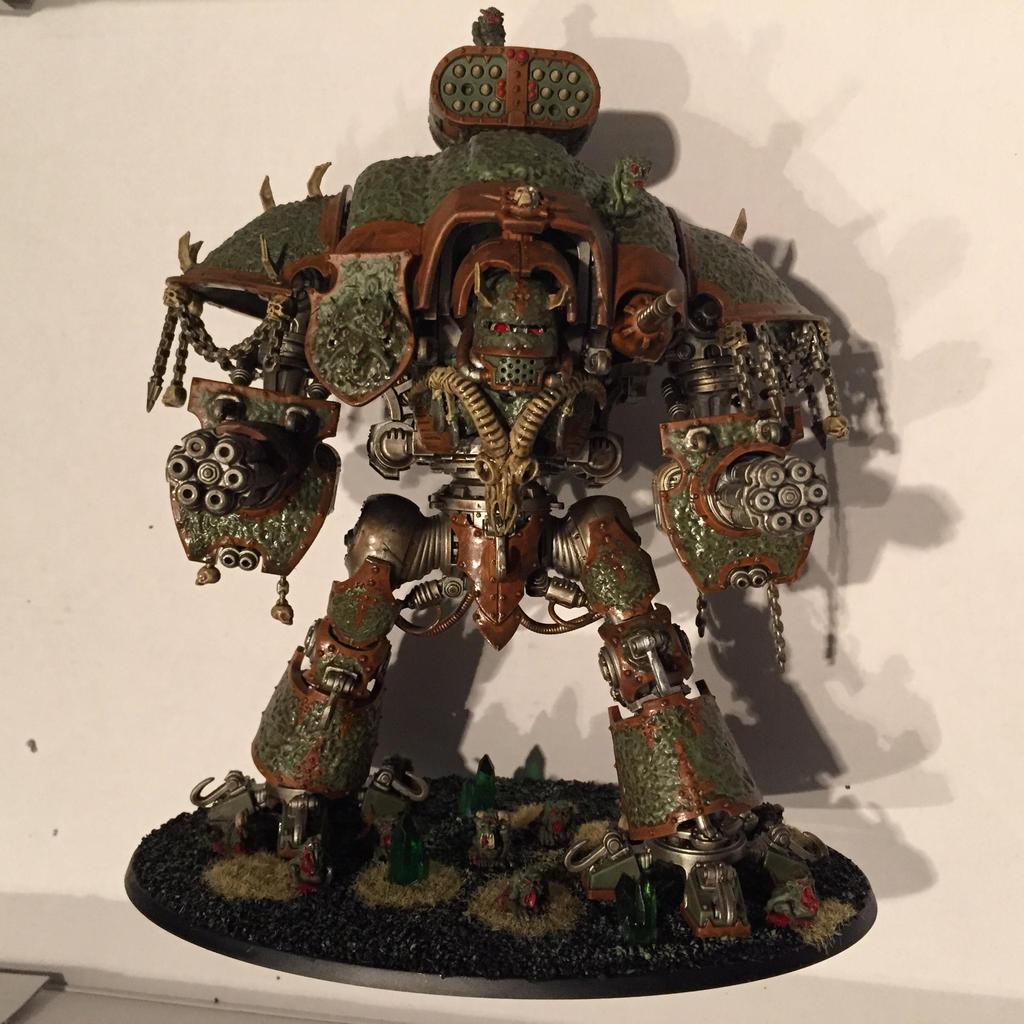 40k Nurgle Knight by Petrifications on DeviantArt