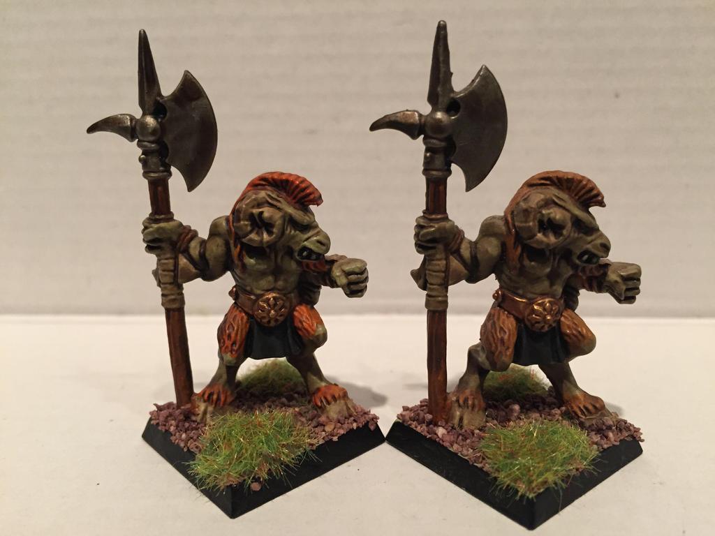 Mordheim Chaos Beastmen by Petrifications
