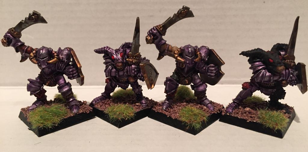 Mordheim Slaanesh Brethren by Petrifications