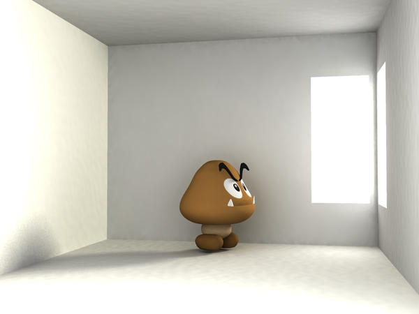 Indoor Goomba by phantomcameron