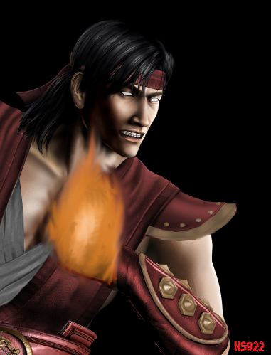 God Liu Kang By Iamhavik On Deviantart