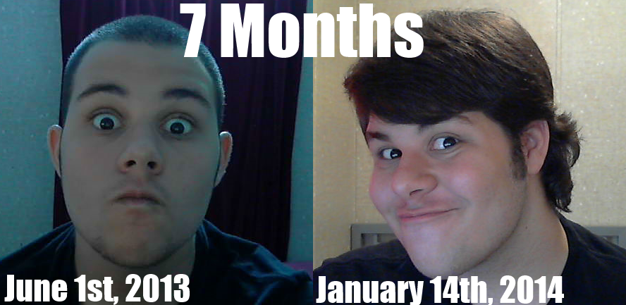 Month By Month Hair Growth Pictures | newhairstylesformen2014.com