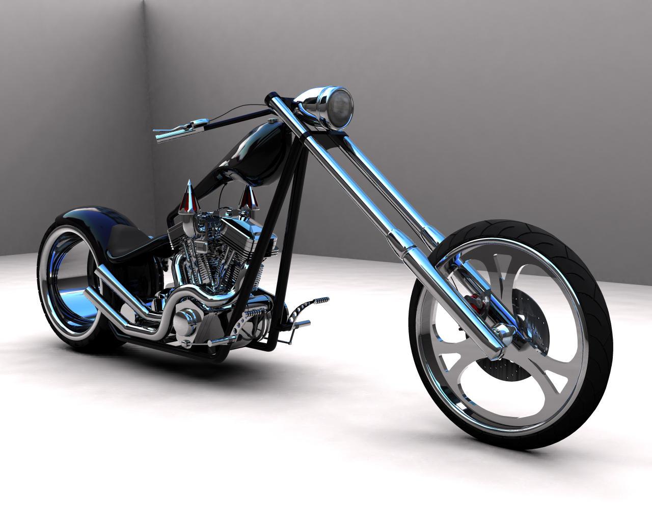 Black Chopper by scogs