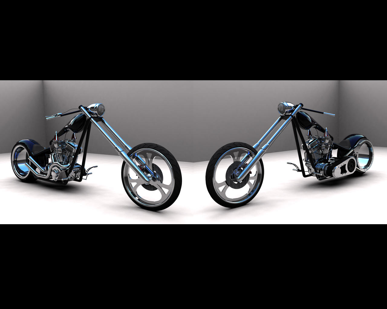 Black Chopper WP 2 by scogs