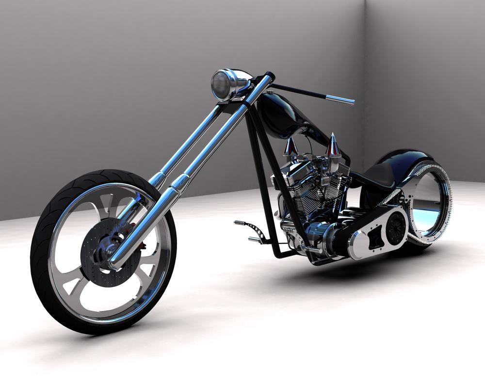 Black Chopper 2 by scogs