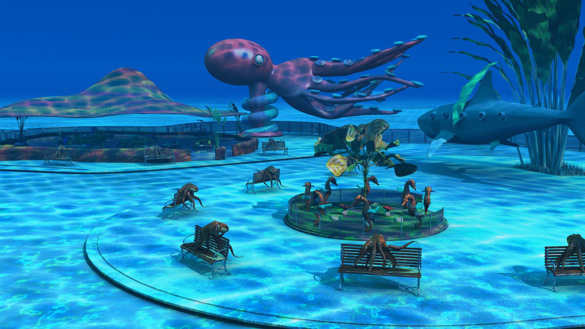 Underwater Park No.2 by Oigres-Kun on DeviantArt
