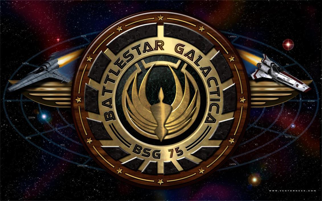 Battlestar Galactica Galaxy by vectorgeek