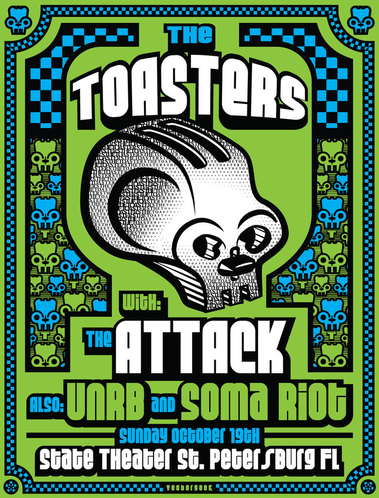 VG-Toasters-Poster by vectorgeek