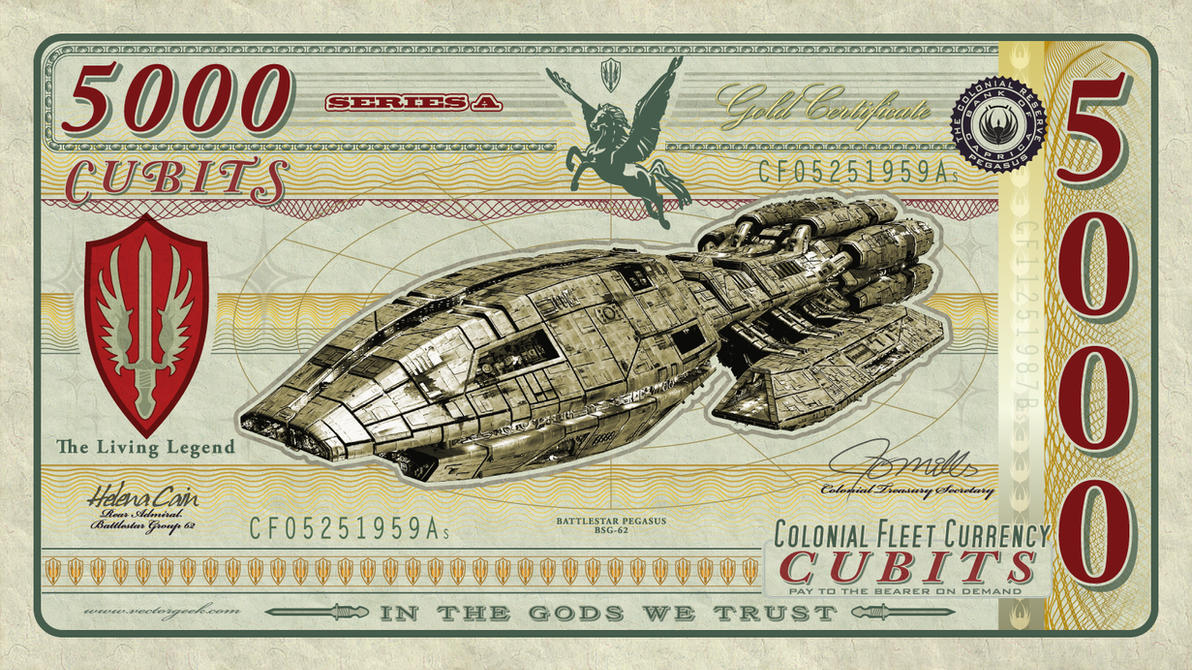 BSG-Currency-Pegasus-2017 by vectorgeek