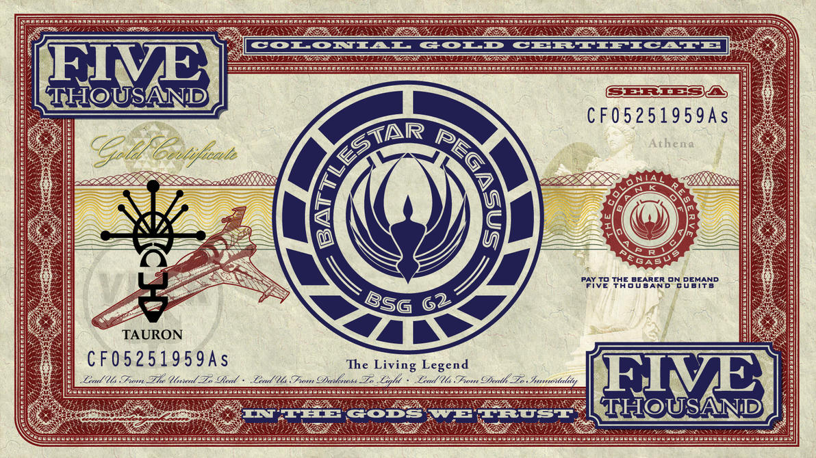 BSG-Currency-Pegasus-2017-Back by vectorgeek