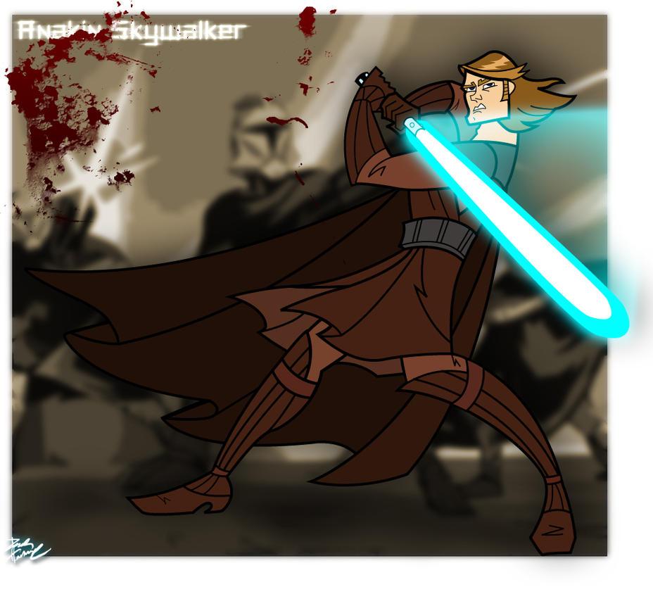 Clone Wars Anakin Skywalker by BlueFve