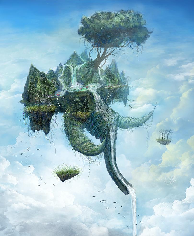 The Stationary Traveler by BlazingFist