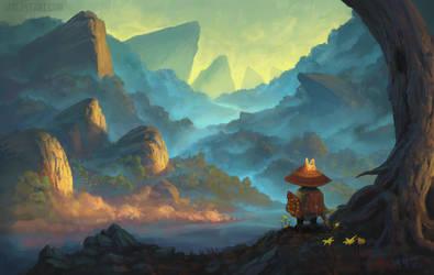 Adventure! by JarlOveArt