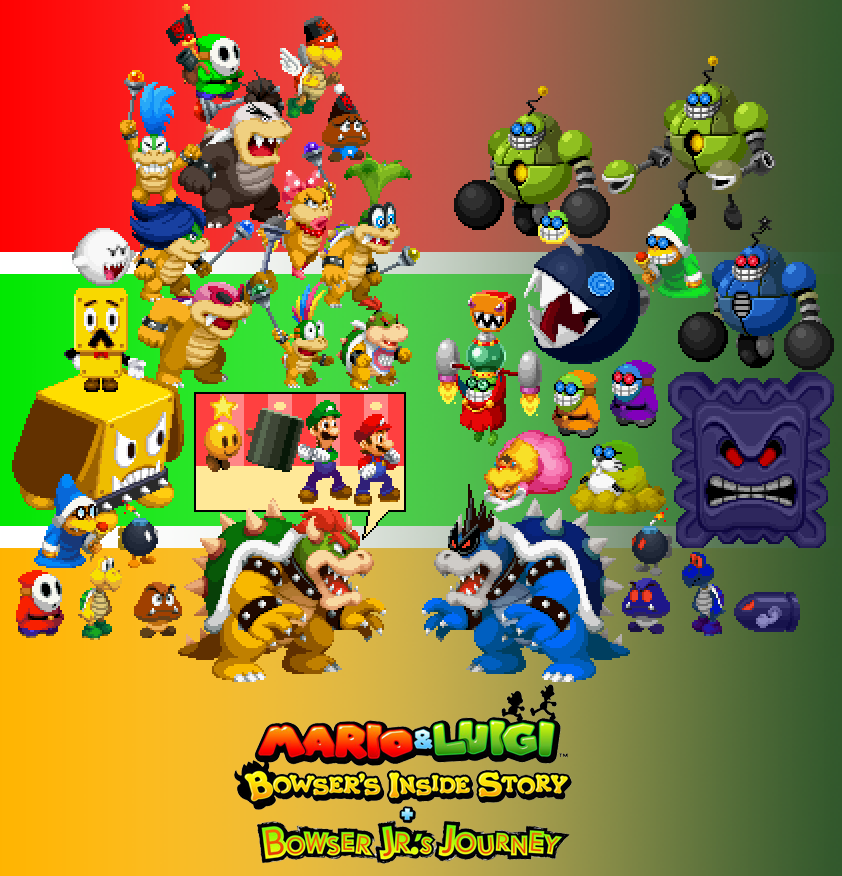 Mario Luigi Bowser S Inside Story Jr S Journey By Chechego On