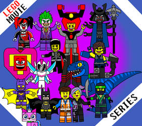 Lego movie series!! by chechego