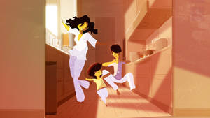 The Breakfast moves by PascalCampion