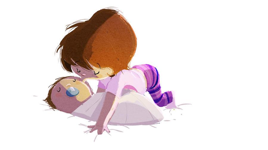 Good night kiss by PascalCampion