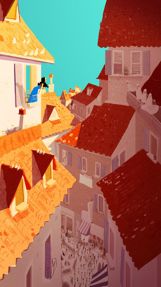 Rooftops by PascalCampion