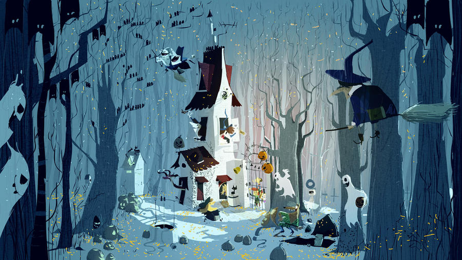 The house in the forest by PascalCampion