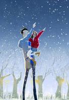 Winter night by PascalCampion