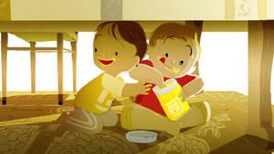 Honey snatchers by PascalCampion
