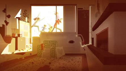 Winter Sun by PascalCampion