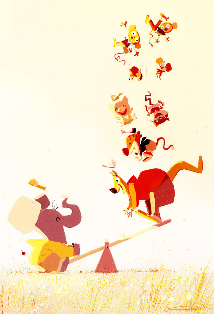 See Saw by PascalCampion