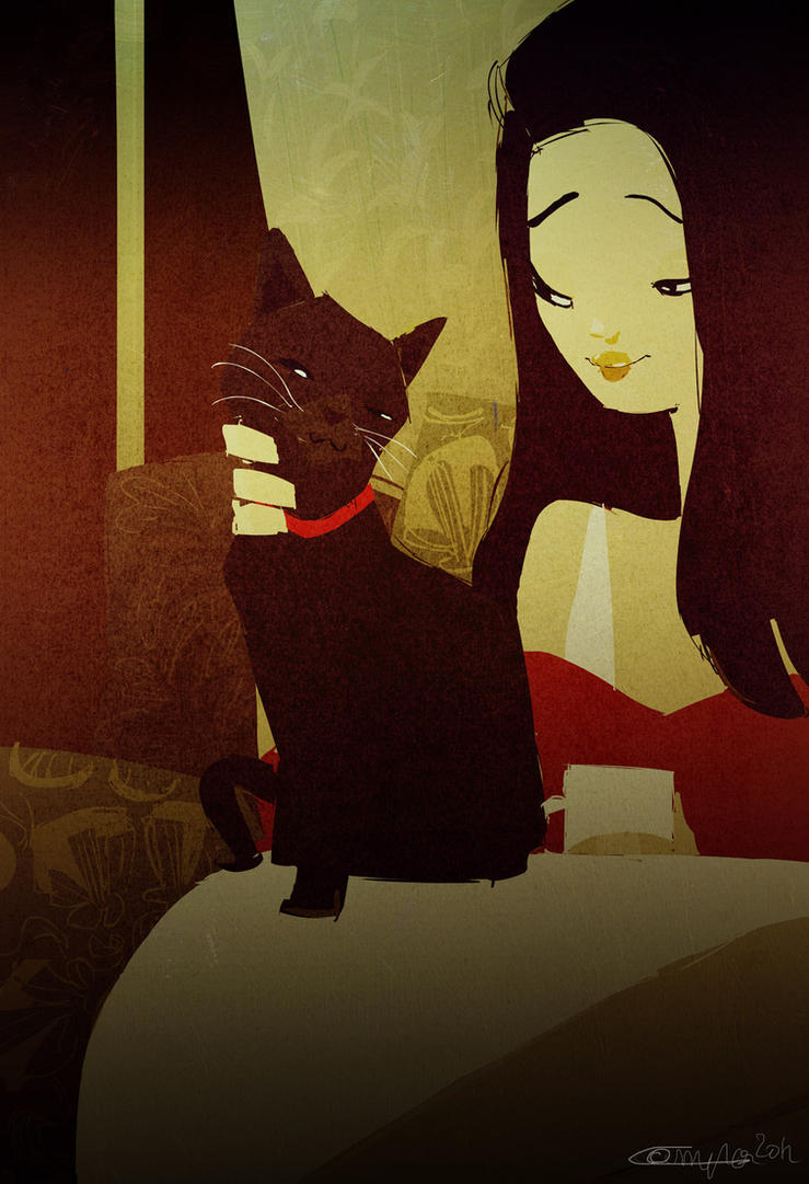 Cat Lady by PascalCampion