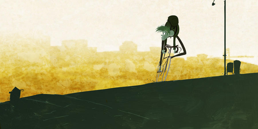 Morning Ride...from a few years ago by PascalCampion