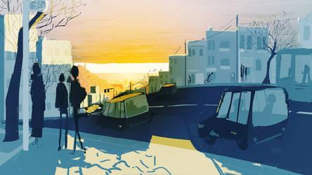 Good Morning San Francisco by PascalCampion