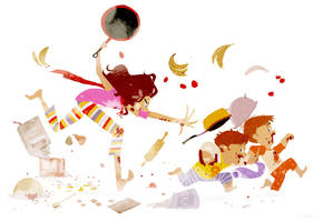 It was going to be a chocolate cake by PascalCampion
